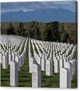 Too Many.. Veteran Cemetery, Santa Fe Canvas Print