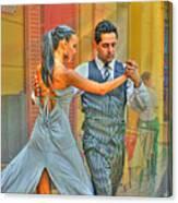 Too Tango Canvas Print