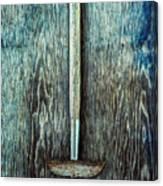 Tools On Wood 55 Canvas Print