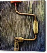Tools On Wood 58 Canvas Print