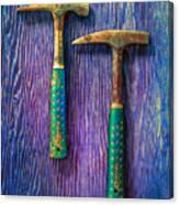 Tools On Wood 65 Canvas Print