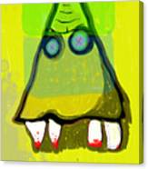 Tooth_monster_1d Canvas Print