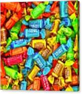 Tootsie Fruit Chews Canvas Print