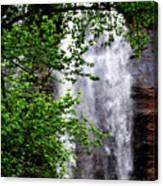 Top Half Of Toccoa Falls Canvas Print