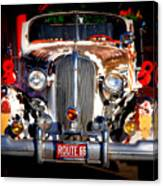 Top Model On Route 66 Canvas Print