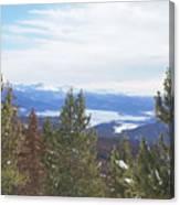 Top Of Gravel Mountain Canvas Print