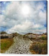 Top Of The Dunes Canvas Print