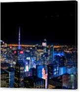 Top Of The Rock 1 Canvas Print