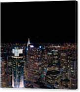 Top Of The Rock 3 Canvas Print