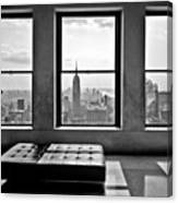Top Of The Rock Canvas Print