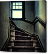 Top Of The Stairs Canvas Print