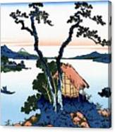 Top Quality Art - Mt,fuji36view-shinshu Suwako Canvas Print