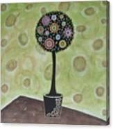 Topiary 1 Canvas Print