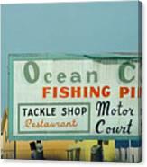 Topsail Island Ocean City 1996 Canvas Print