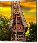 Toraja Architecture Canvas Print