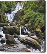 Torc Waterfall In Killarney National Canvas Print