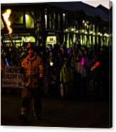 Torchlight Parade Canvas Print