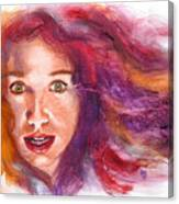 Tori Rainbow Canvas Print