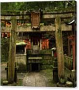 Toriis At Inari Canvas Print