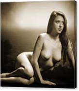 Toriwaits Nude Fine Art Print Photograph In Black And White 5102 Canvas Print