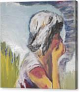 Tornado Girl Canvas Print