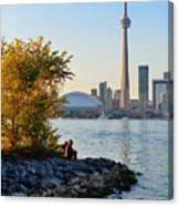 Toronto Cn Tower Canvas Print