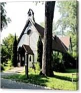 Toronto Island Chapel Canvas Print