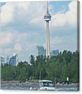 Toronto Island  Canvas Print