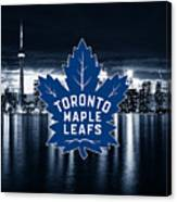 Toronto Maple Leafs Nhl Hockey Canvas Print