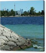 Toronto Shoreline Canvas Print
