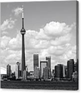 Toronto Skyline 11 Canvas Print