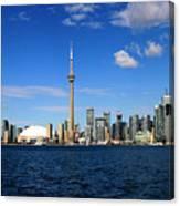 Toronto Skyline 26 Canvas Print