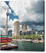 Toronto - Skyline / Harbourfront Canvas Print