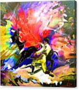Toroscape 06 Canvas Print