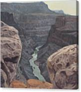 Toroweap Overlook Grand Canyon North Rim Canvas Print