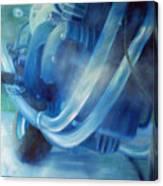 Torque Triple - Triumph Thunderbird Sport Canvas Print