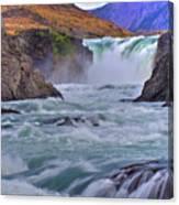Torres Del Paine 001 Canvas Print