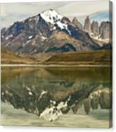 Torres Del Paine Canvas Print
