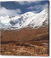 Torridon Panorama Canvas Print