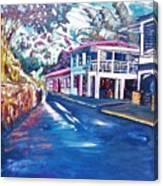 Tortola  Main Street Canvas Print