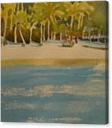 Tortuga Island Costa Rica Canvas Print