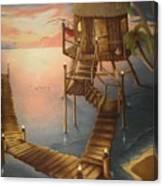 Tortugan Riviera Canvas Print