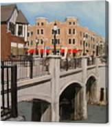 Tosa Village Bridge Canvas Print