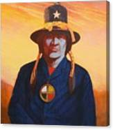 Tosh-a-wah,peneteka Comanche Chief Canvas Print