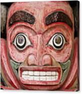 Totem Pole Detail Canvas Print