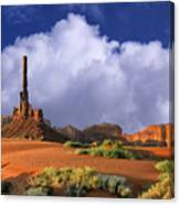 Totem Pole Monument Valley Canvas Print
