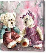 Toto Et Lolo Canvas Print