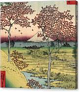 Toto Meguro Yuhhigaoka - Sunset Hill Meguro In The Eastern Capitol Canvas Print