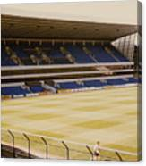 Tottenham - White Hart Lane - West Stand 2 - 1980s Canvas Print