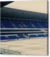 Tottenham - White Hart Lane - West Stand 3 - 1980s Canvas Print